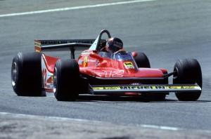Gilles Villeneuve(CDN) Ferrari 312T4